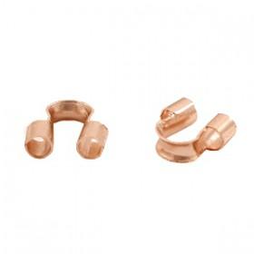 DQ draadbeschermer 5mm Rosé goud (nikkelvrij)