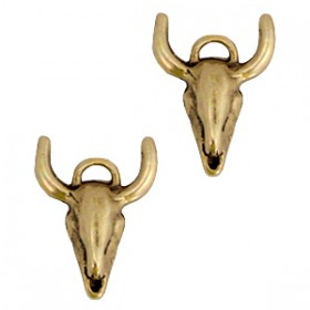 Bedels DQ buffelkop Antiek brons (nikkelvrij)