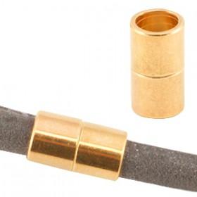 DQ metalen magneetslot Ø6.2mm Rosé goud (nikkelvrij)