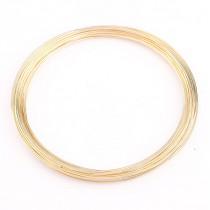 Memory wire voor armbanden Gold
