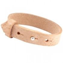 Cuoio armbanden leer 15 mm voor 20 mm cabochon Cream Cognac Brown