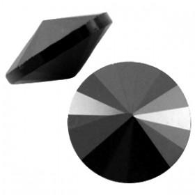 LC rivoli puntstenen 1122 - 12 mm Jet hematite