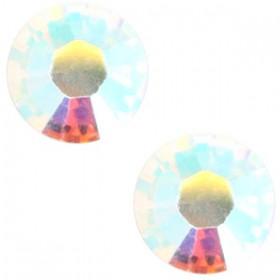 Swarovski Elements SS30 (6.4mm) Crystal AB
