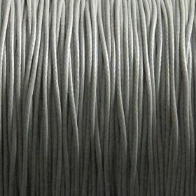 Nylon waxkoord 0.5mm grijs