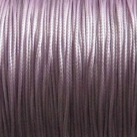 Nylon waxkoord 0.5mm lila