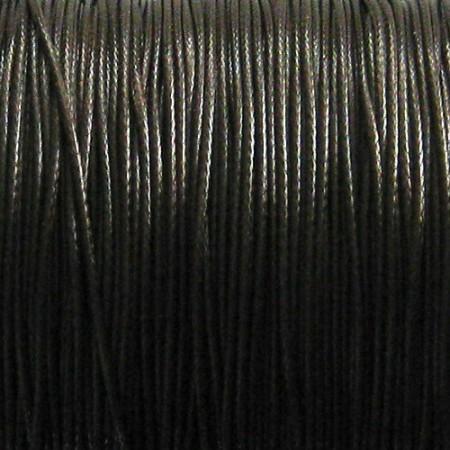 Nylon waxkoord 0.5mm donkerbruin