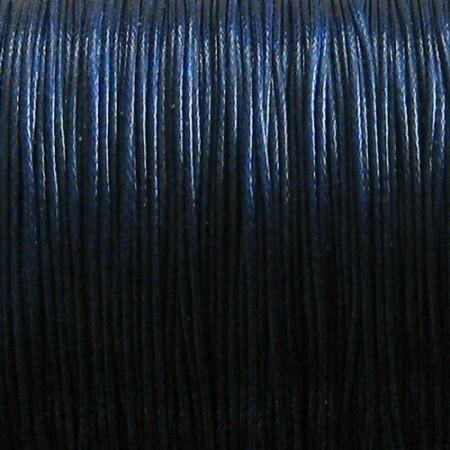 Nylon waxkoord 0.5mm petrol blauw