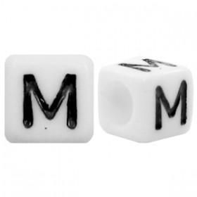 Acryl letterkraal vierkant M