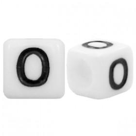 Acryl letterkraal vierkant O