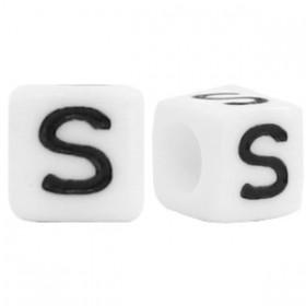 Acryl letterkraal vierkant S