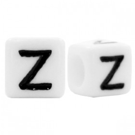 Acryl letterkraal vierkant Z