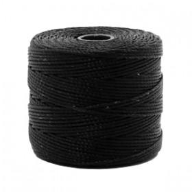 Nylon S-Lon draad 0.6mm Black