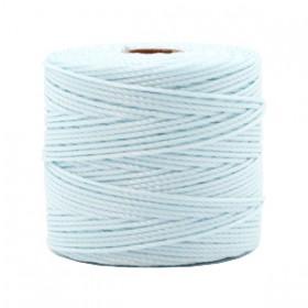 Nylon S-Lon draad 0.6mm Soft sky blue