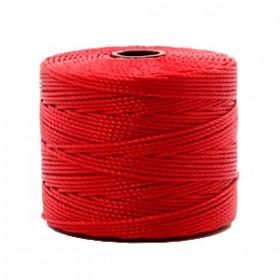 Nylon S-Lon draad 0.6mm Shanghai red