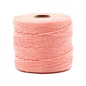 Nylon S-Lon draad 0.6mm Candy pink
