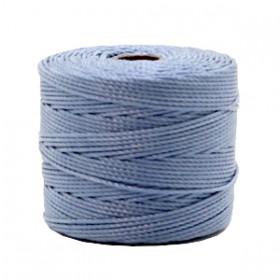 Nylon S-Lon draad 0.6mm Pale blue