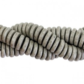 DQ Griekse keramiek disc 6.5mm Stonewash graphite grey