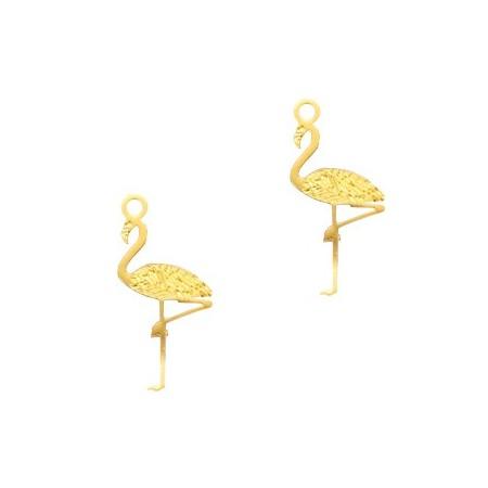 Bohemian hanger flamingo Gold