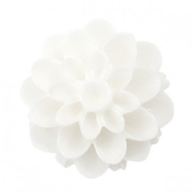 Dahlia bloem kralen 14mm