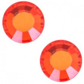 Swarovski Elements SS30 (6.4mm) Hyacinth orange