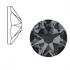 Swarovski Elements 2088-SS34 flatback Xirius Rose Crystal silver night