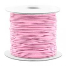 Gekleurde elastische draad 0.8mm Light pink