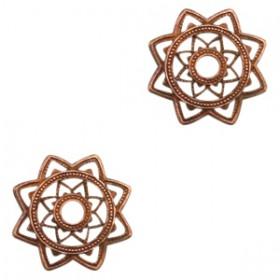 Bedels TQ metaal Mandala Koper (nikkelvrij)