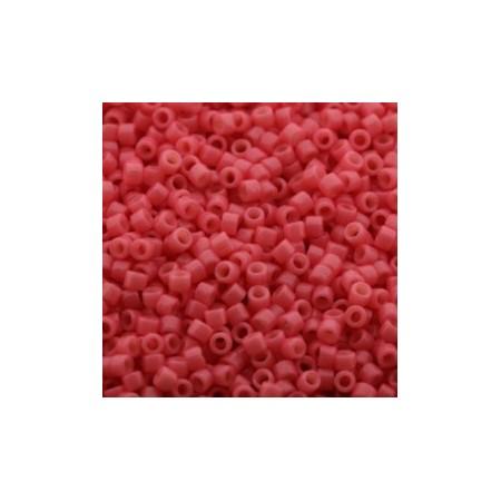 Miyuki Delica 11/0 Duracoat Opaque Guava