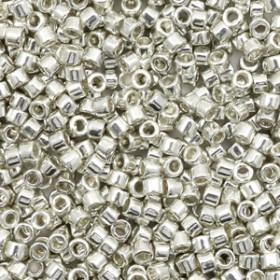 Miyuki Delica 11/0 Galvanized Silver