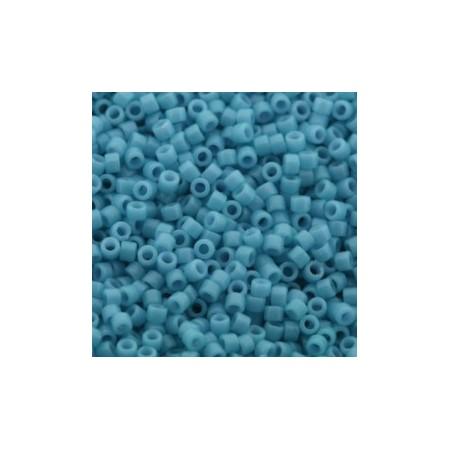 Miyuki Delica 11/0 Duracoat Opaque Nile Blue