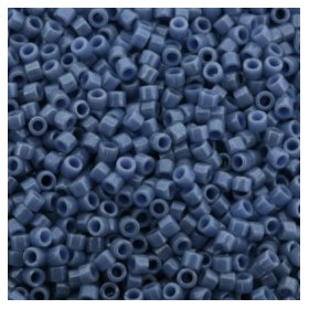 Miyuki Delica 11/0 Opaque Denim Blue Luster