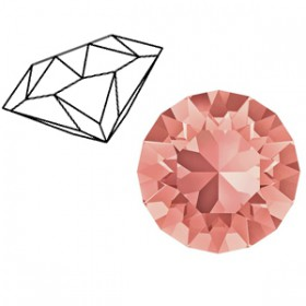 Swarovski SS39 puntsteen Rose peach