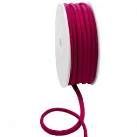 Gestikt elastische lint 5mm Velvet purple