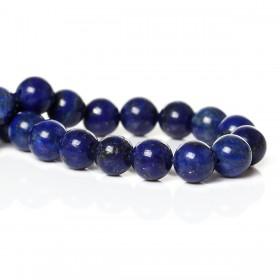 Lapis Lazuli rond 6mm Donkerblauw