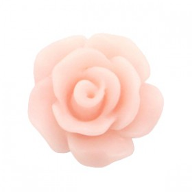 Roosjes kralen 10mm matt Vintage rose