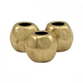 DQ metaal kraal 7x8mm Antiek brons (nikkelvrij)