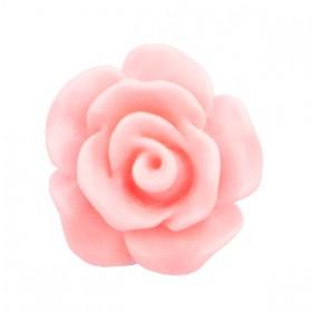 Roosjes kralen 10mm matt Sweet pink