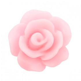 Roosjes kralen 10mm matt Pink