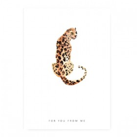 "Sieraden kaart ""for you from me"" Wit"