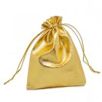 Cadeau Zakje 7 x 9cm Goud