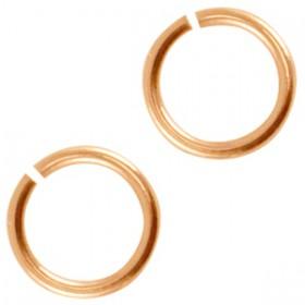 DQ metaal buigring 3mm Rosé goud (nikkelvrij)