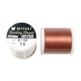 Miyuki beading draad 0.2mm Koper