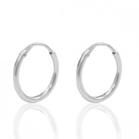 Sterling Silver 925 creolen 12mm