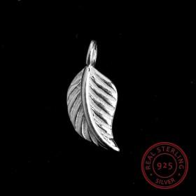 Sterling Silver 925 bedeltje leaf