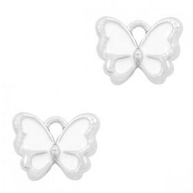 Bedeltje vlinder Zilver-White