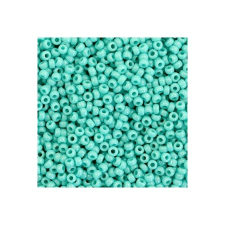 Miyuki rocailles 11/0 Opaque turquoise green 11-412