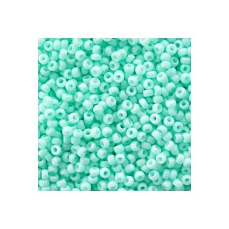 Miyuki rocailles 11/0 Duracoat opaque catalina green 11-4472