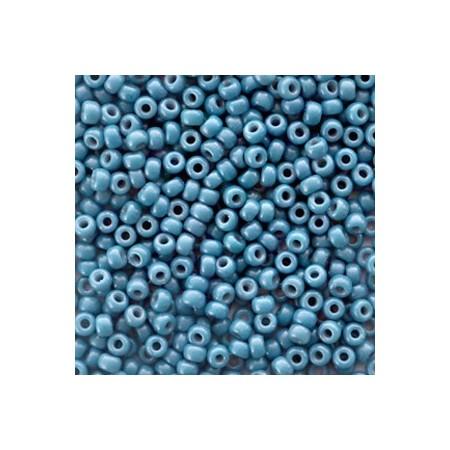 Miyuki Rocailles 8/0 Duracoat opaque Juniper berry blue
