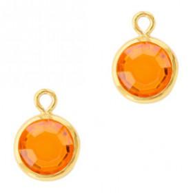 DQ facethanger Goud Sun orange