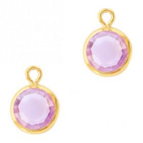 DQ facethanger Goud Violet purple
